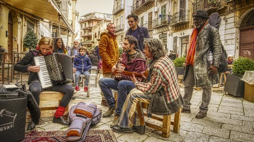 Palermo - Piazza Garraffello