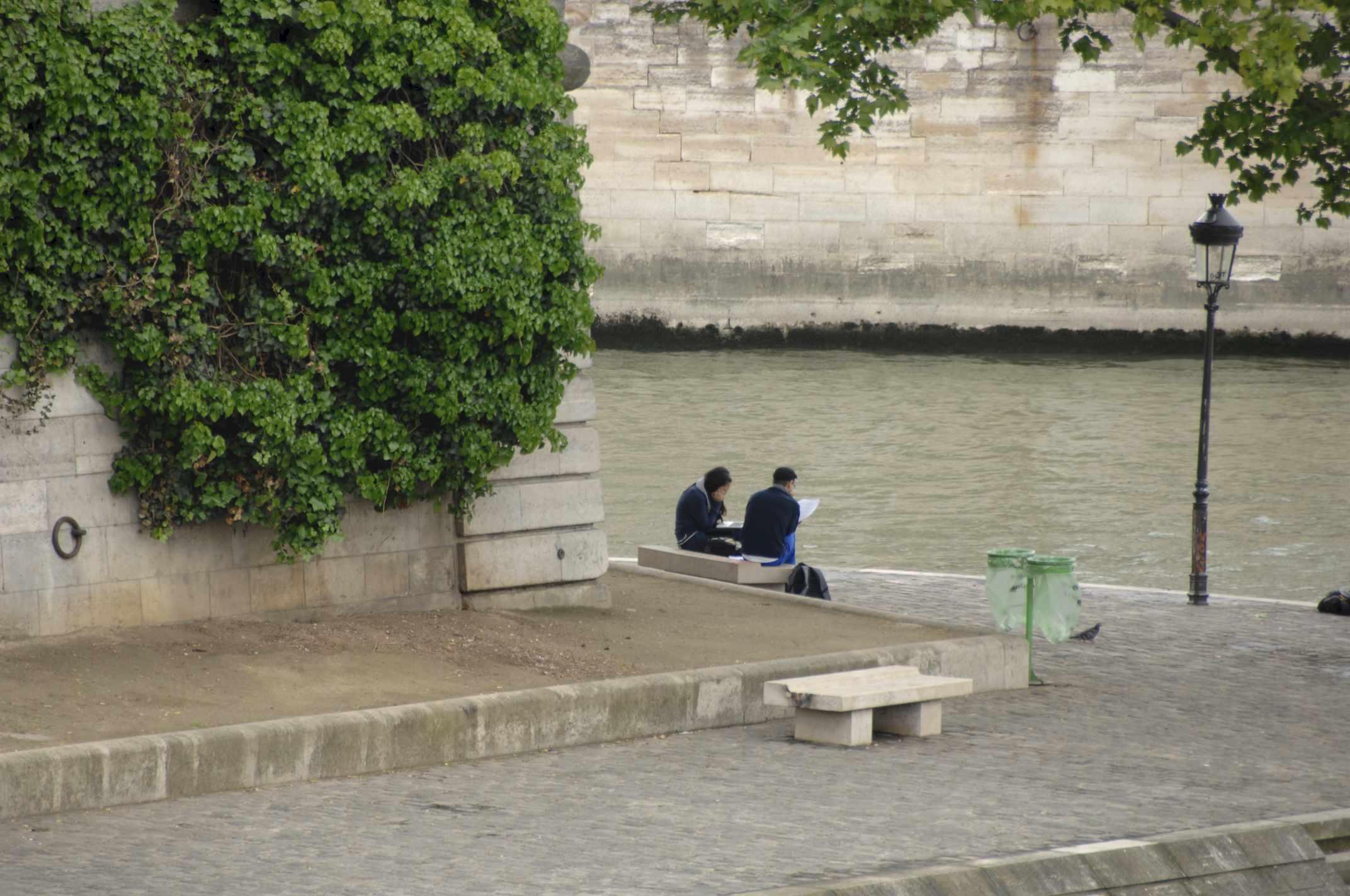 Parigi -  Lungo la Senna