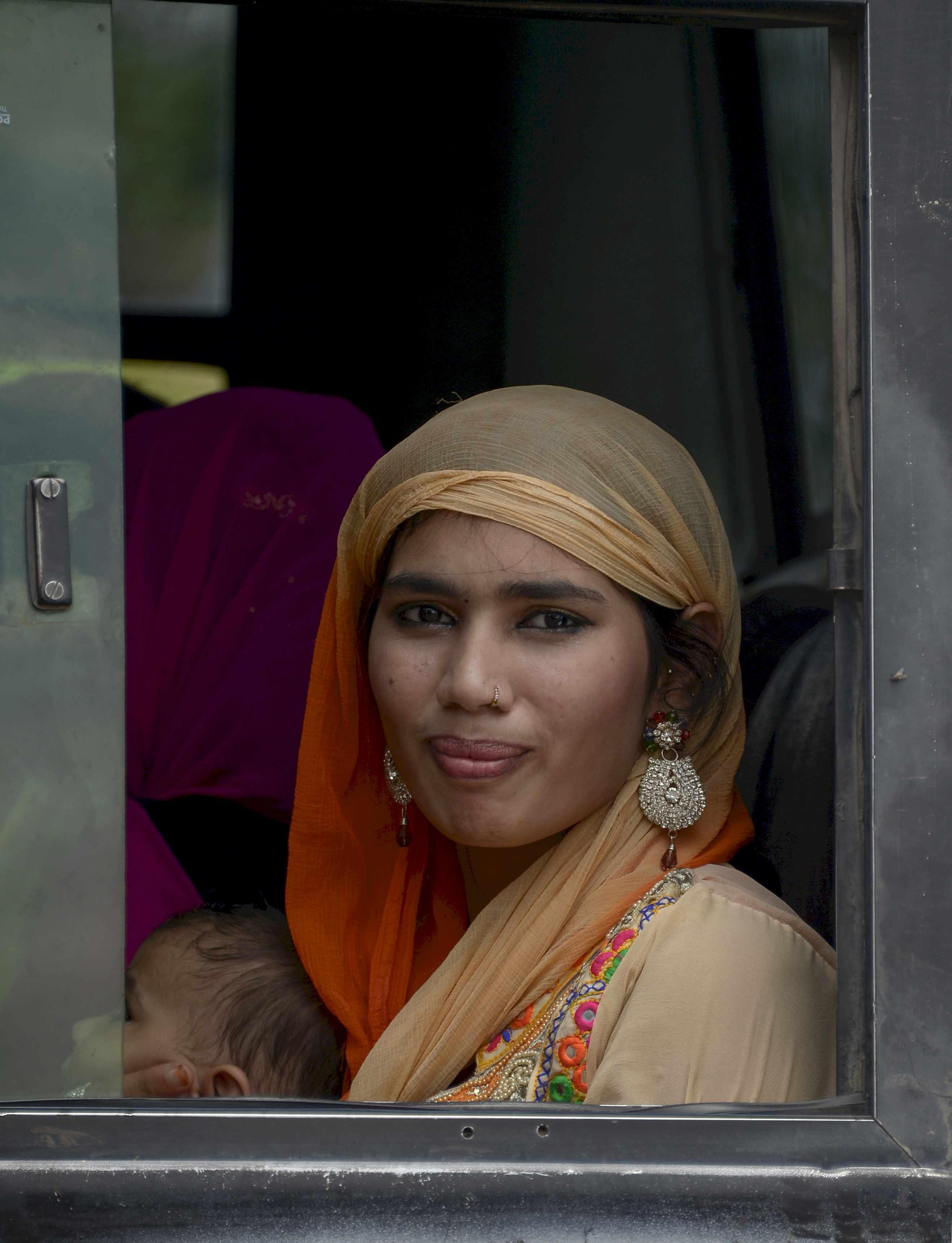 India - bus