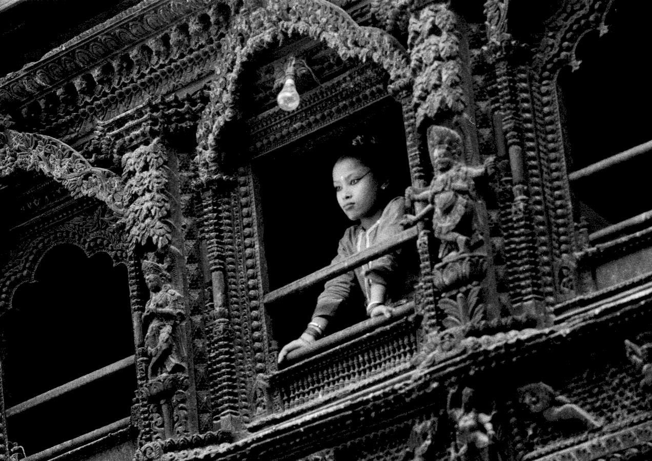 Nepal, Kathmandu, Kumari Devi, la dea vivente