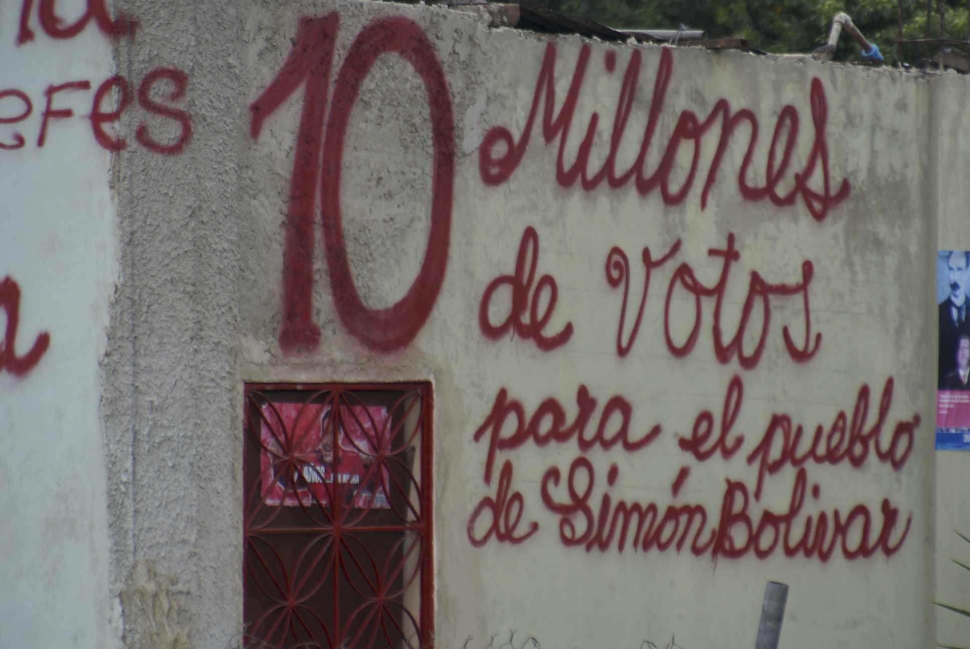 Venezuela - 10 miliones de votos par el pueblo de Simon Bolivar