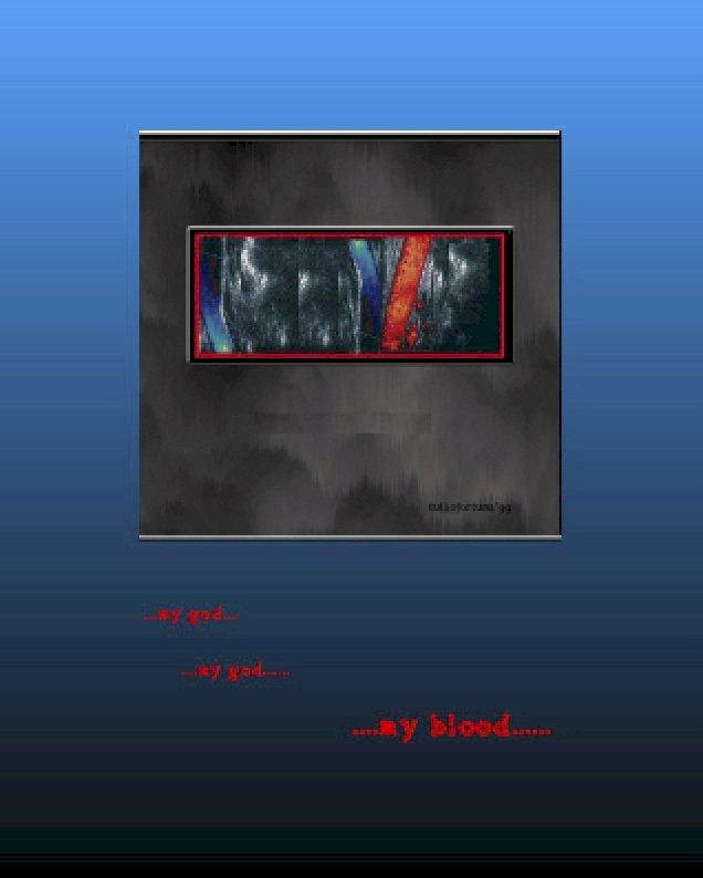 My God! my blood!